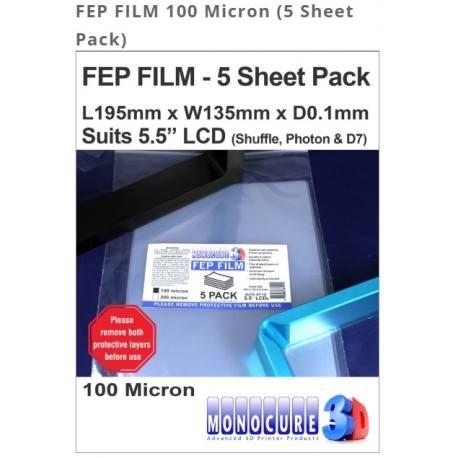 Folia FEP 100 Micron (5 sztuk)