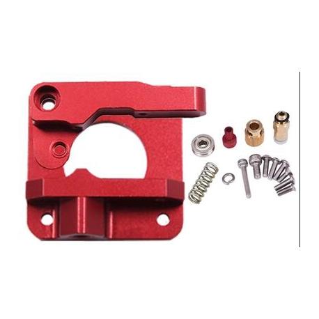 Creality MK8 / CR10 Metalowy Zestaw Extrudera - czerwony